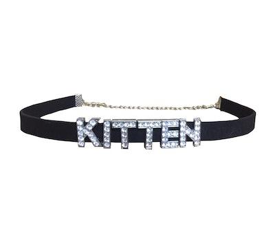 Kitten Choker Adjustable Collar Necklace