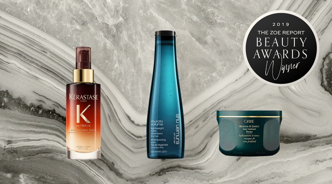 2019's best new haircare products, according to TZR Beauty Award judges.