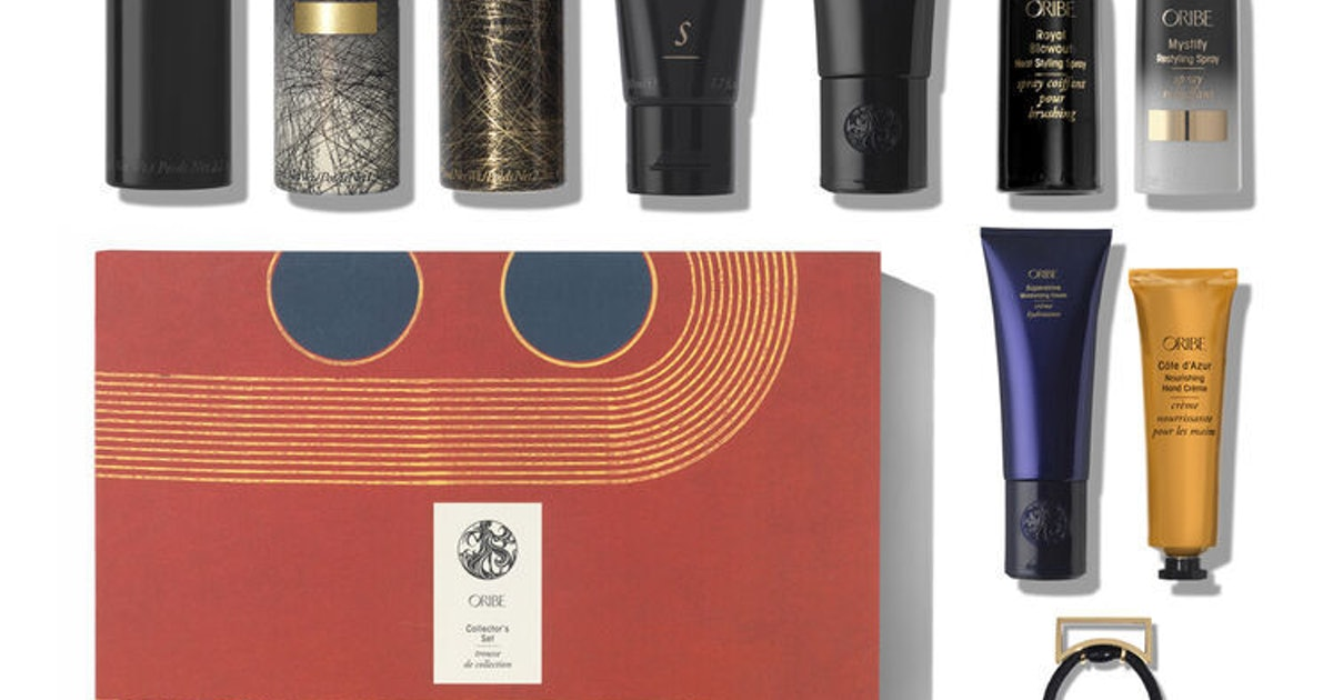 Oribe's Holiday 2019 Gift Sets Feature Crowd-Favorite Products & Stylish Packaging That Gives Back