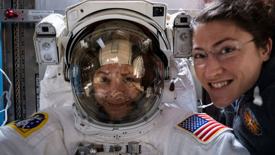 Christina Koch and Jessica Meir made history when they became the first time two women to step outside the International Space Station for a spacewalk.