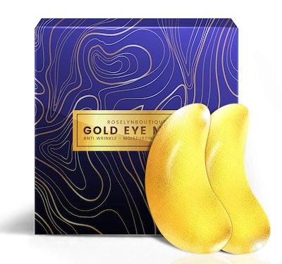 24K Gold Collagen Under Eye Patches