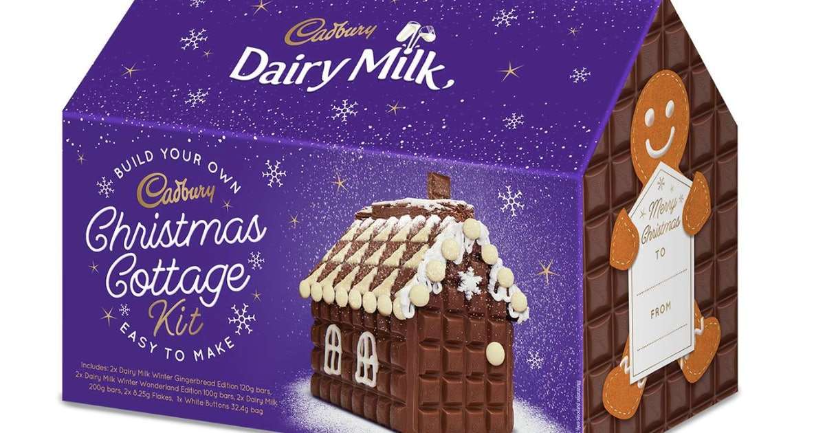 Cadbury's Dairy Milk Christmas Cottage Kit Is Here For The Holidays