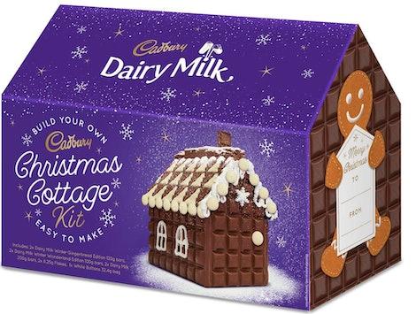 The Cadbury Dairy Milk Christmas Cottage Kit.
