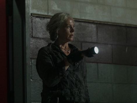 Melissa McBride as Carol Peletier in The Walking Dead