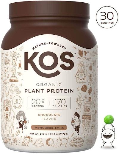 KOS Organic Plant Protein Powder (2.6 Lbs.)