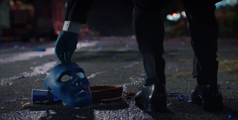 Dr. Manhattan appears in HBO's Watchmen