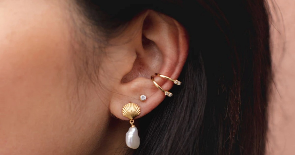 Multiple Ear Piercings Are Cooler Than Ever, So Here's How To Create A Curated Ear