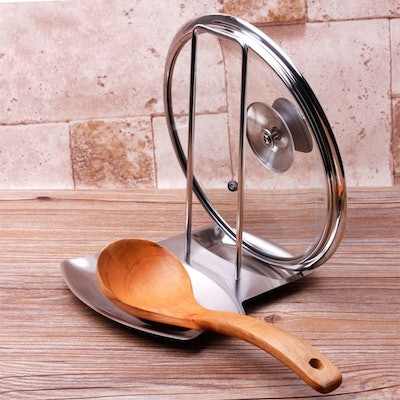 iPstyle Pan Lid and Spoon Holder