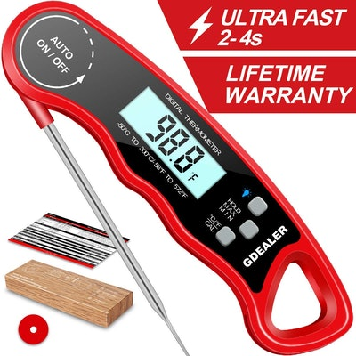 GDealer Waterproof Digital Instant Read Meat Thermometer