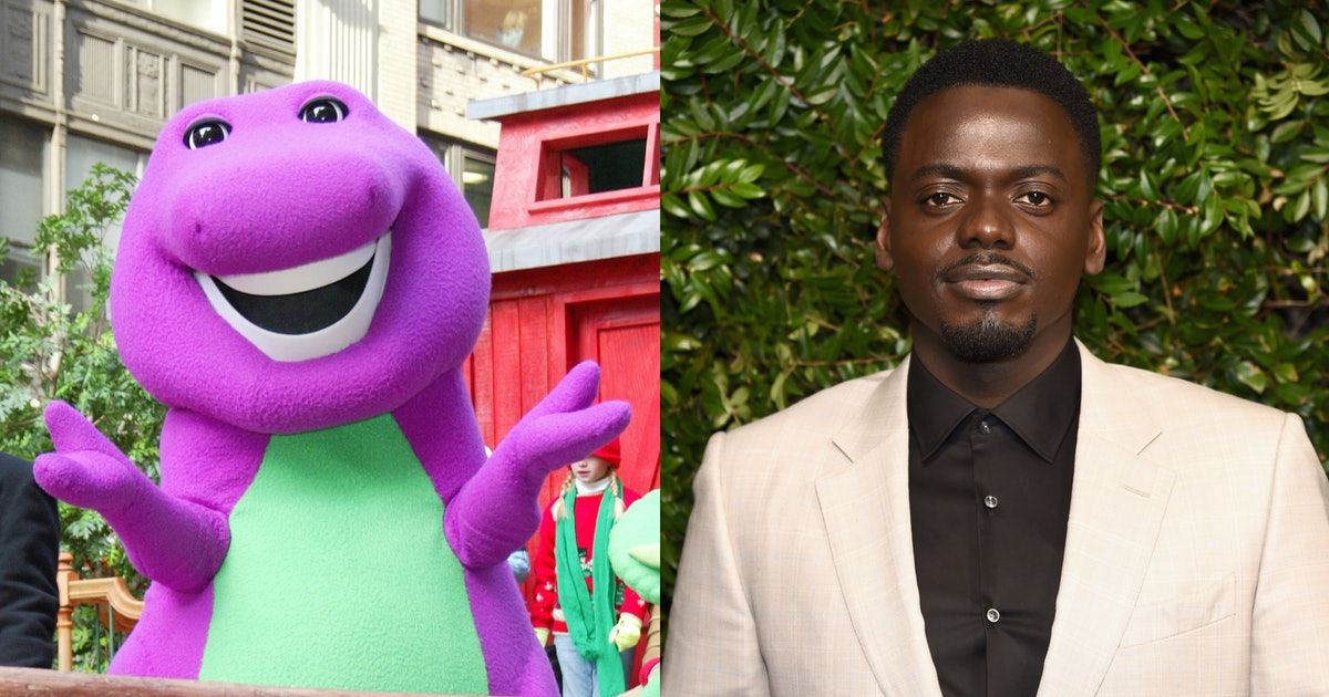 "There's A ""Subversive"" Barney Movie In The Works From Daniel Kaluuya"