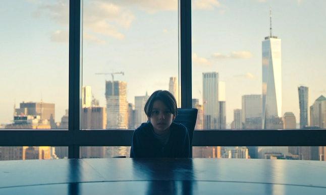 Evan Whitten as young Elliot in Mr. Robot