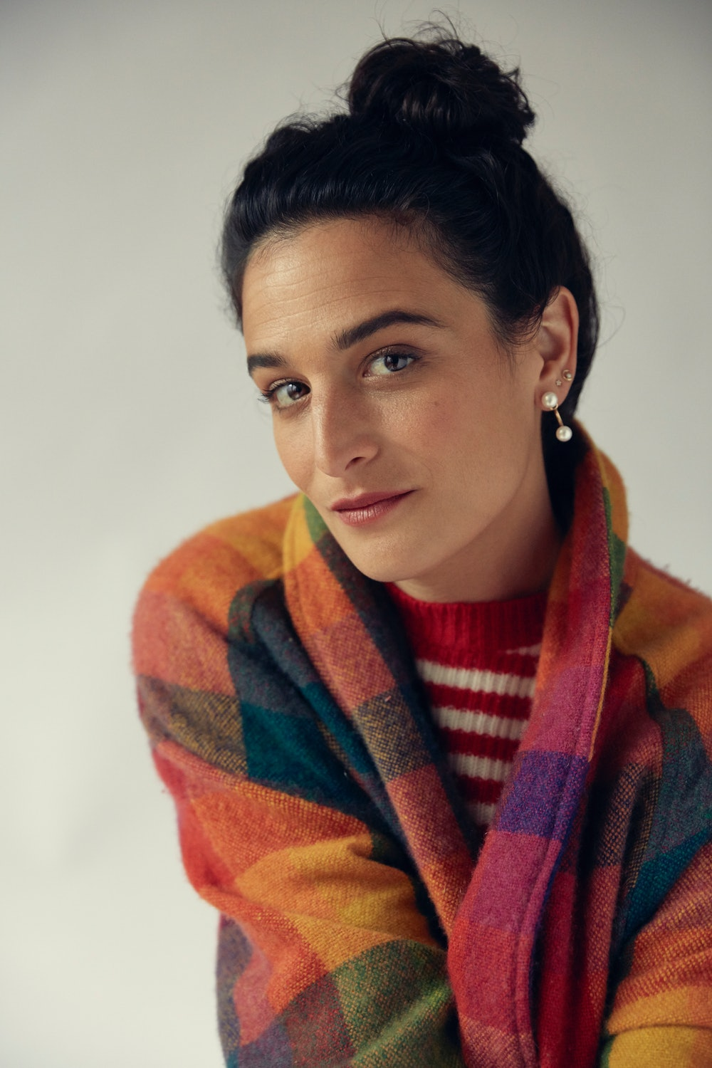 Jenny Slate discusses her past relationships and engagement to Ben Shattuck.