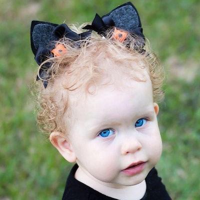 Black Cat Ear Headband