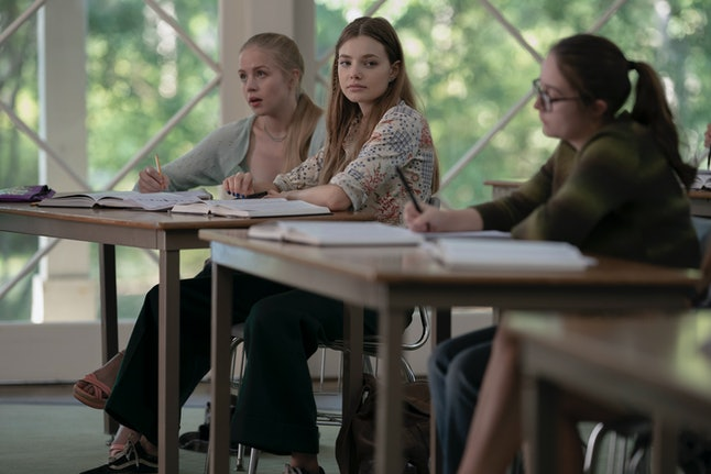 Kristine Froseth as Alaska in Hulu's Looking for Alaska.