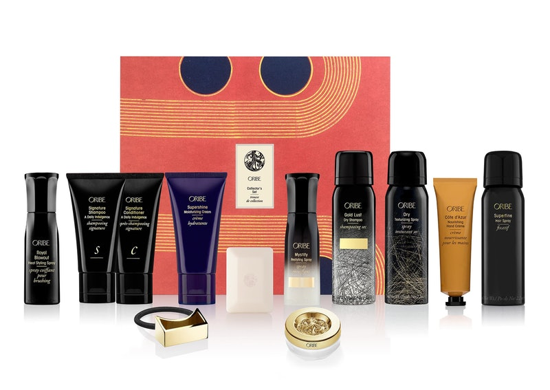 Oribe's Holiday 2019 Gift Sets are ideal for luxe hair styling lovers — this travel set includes tons of Oribe's bestselling products.