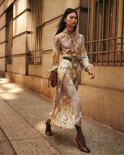 Zara's Campaign Collection includes lots of unexpected prints