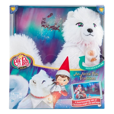 Elf Pets: An Arctic Fox Tradition Book and Stuffed Animal