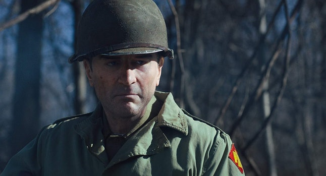 Robert De Niro as Frank Sheeran in The Irishman