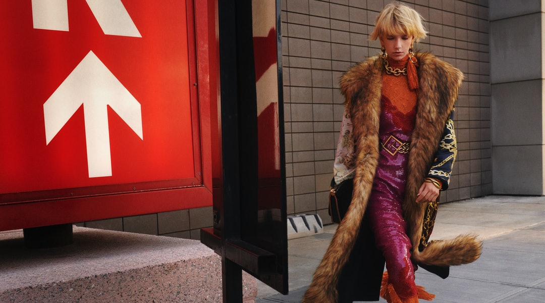 The faux fur coat in Zara's Campaign Collection is one of the must-have pieces