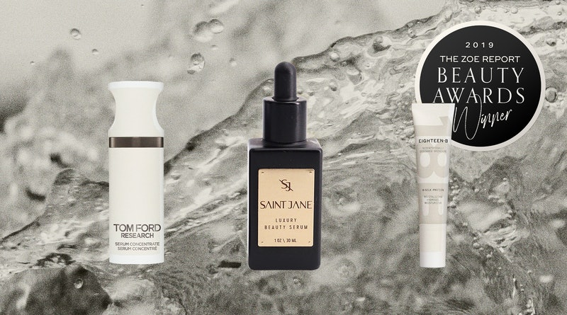 2019's best new skincare products, according to TZR Beauty Awards judges.