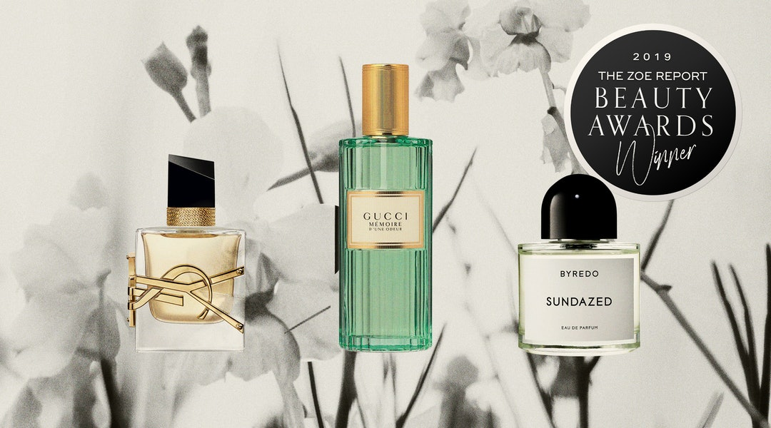 2019' best new fragrances, according to TZR Beauty Awards judges.