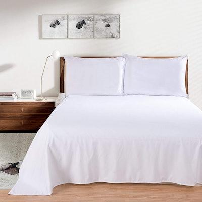 Lullabi Linen Microfiber Bed Sheet Set
