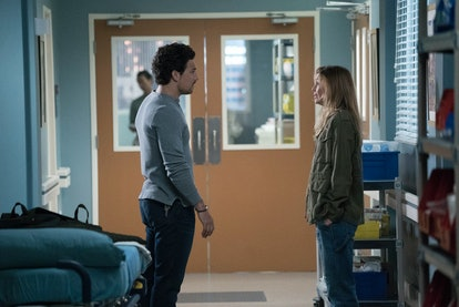 In the October 17 'Grey's Anatomy' episode, Meredith and DeLuca (played by Ellen Pompeo and Giacomo Gianniotti) had a tense argument.