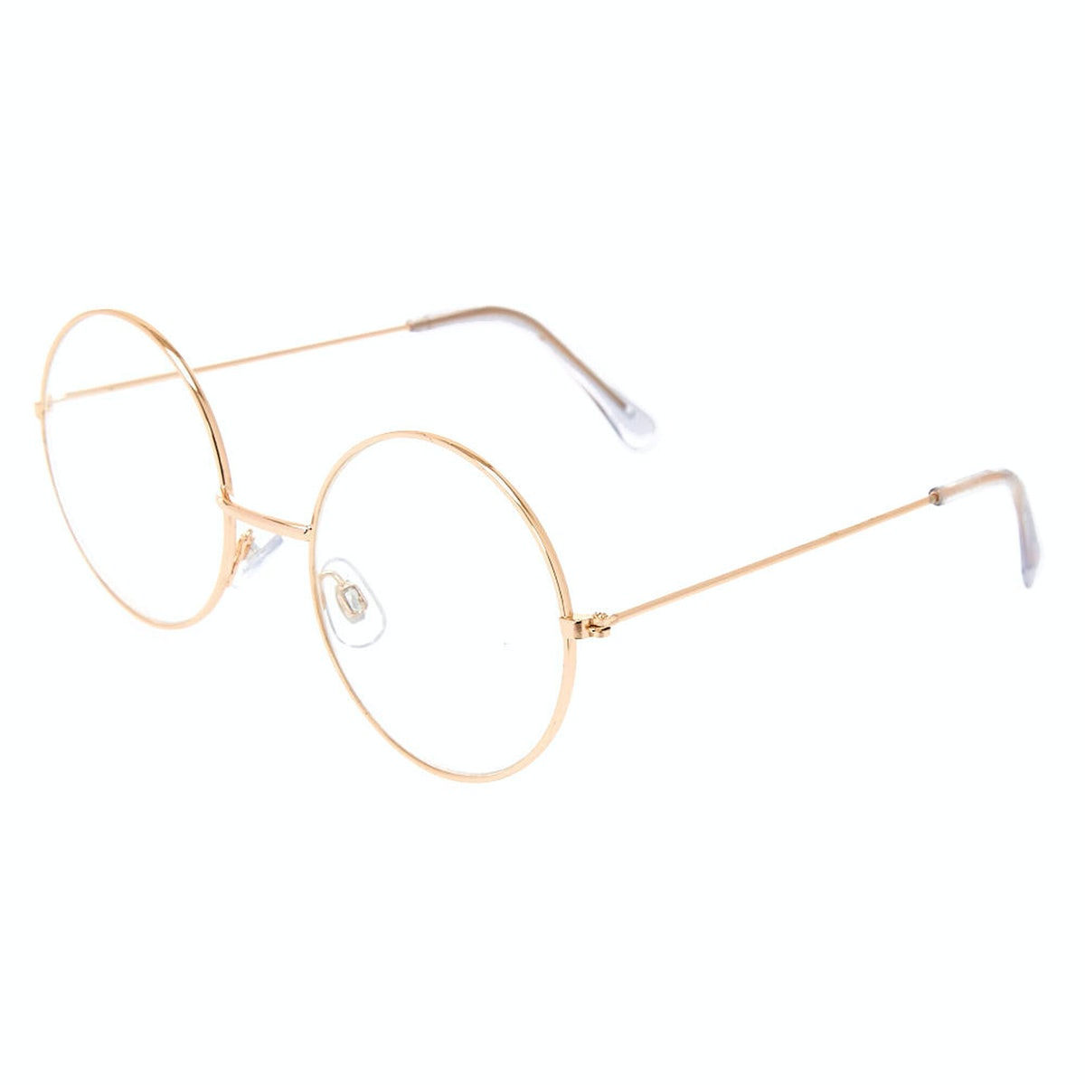 Gold Round Clear Lens Frames
