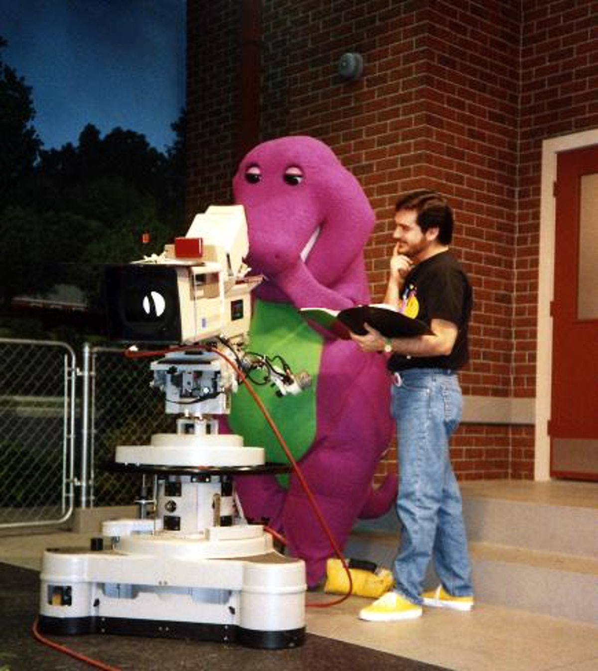 A Live-Action 'Barney' Movie is in the works, but it may be more grown up.