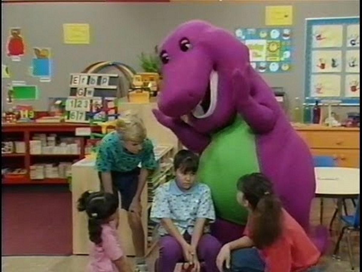 A Live-Action 'Barney' Movie Is in the works and apparently Barney is totally misunderstood.