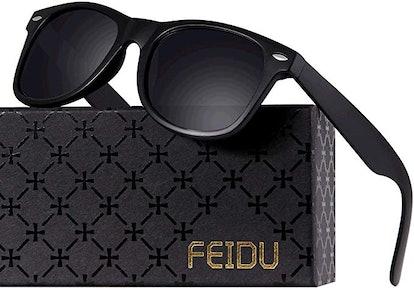 Retro - FEIDU Polarized Retro Sunglasses for Men