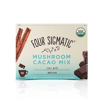 Mushroom Hot Cacao With Reishi