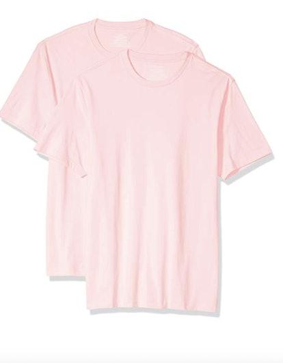 Men's Standard 2-Pack Slim-fit Short-Sleeve Crewneck T-Shirt