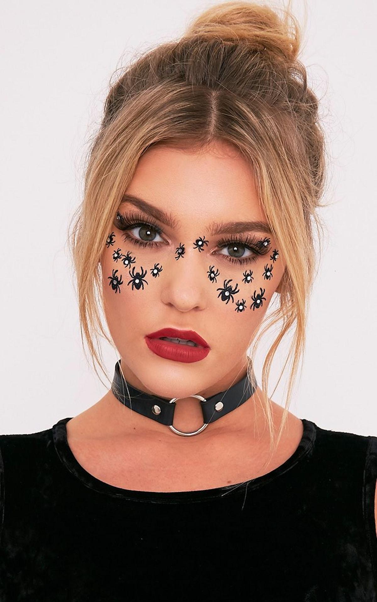 Halloween Spider Face Stickers
