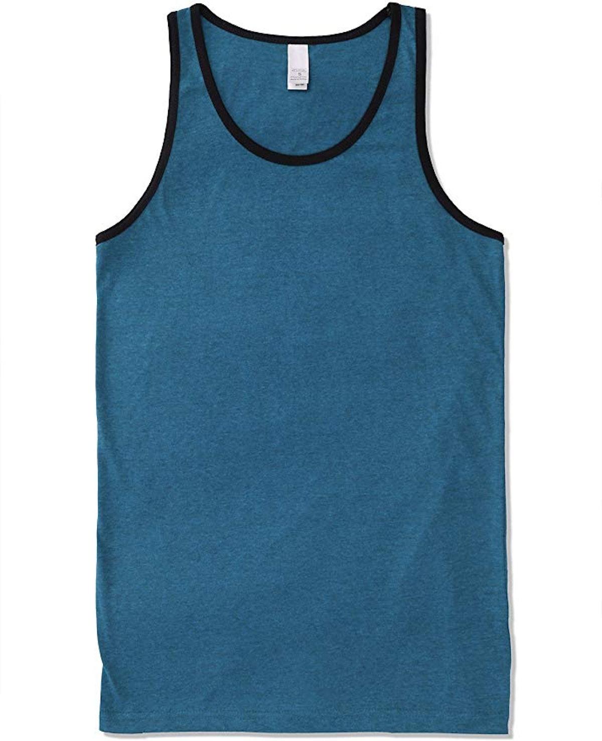 Men's Premium Basic Tank Top Jersey Casual Shirts (Size Upto 3XL