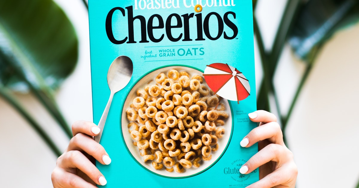 These Toasted Coconut Cheerios Will Make You Feel Like It's Still Summer