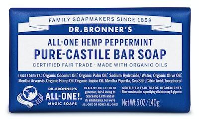 Dr. Bronner's Peppermint Bar Soap, 2 Pack