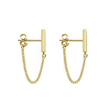 Minimalist Bar Earrings