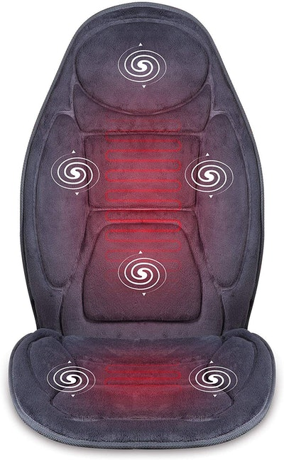 SNAILAX Vibration Massage Seat Cushion with Heat