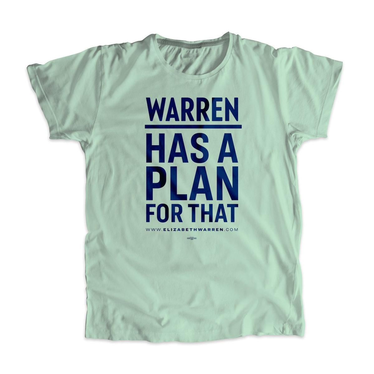 Warren Has a Plan For That Unisex T-Shirt