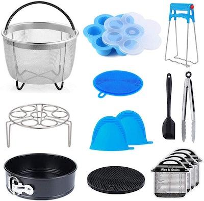 SECITE Pressure Cooker Accessories (15-Piece)