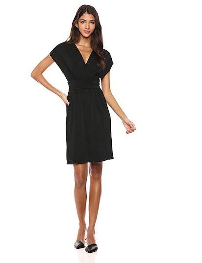 Lark & Ro Sleeveless V-Neck Dress
