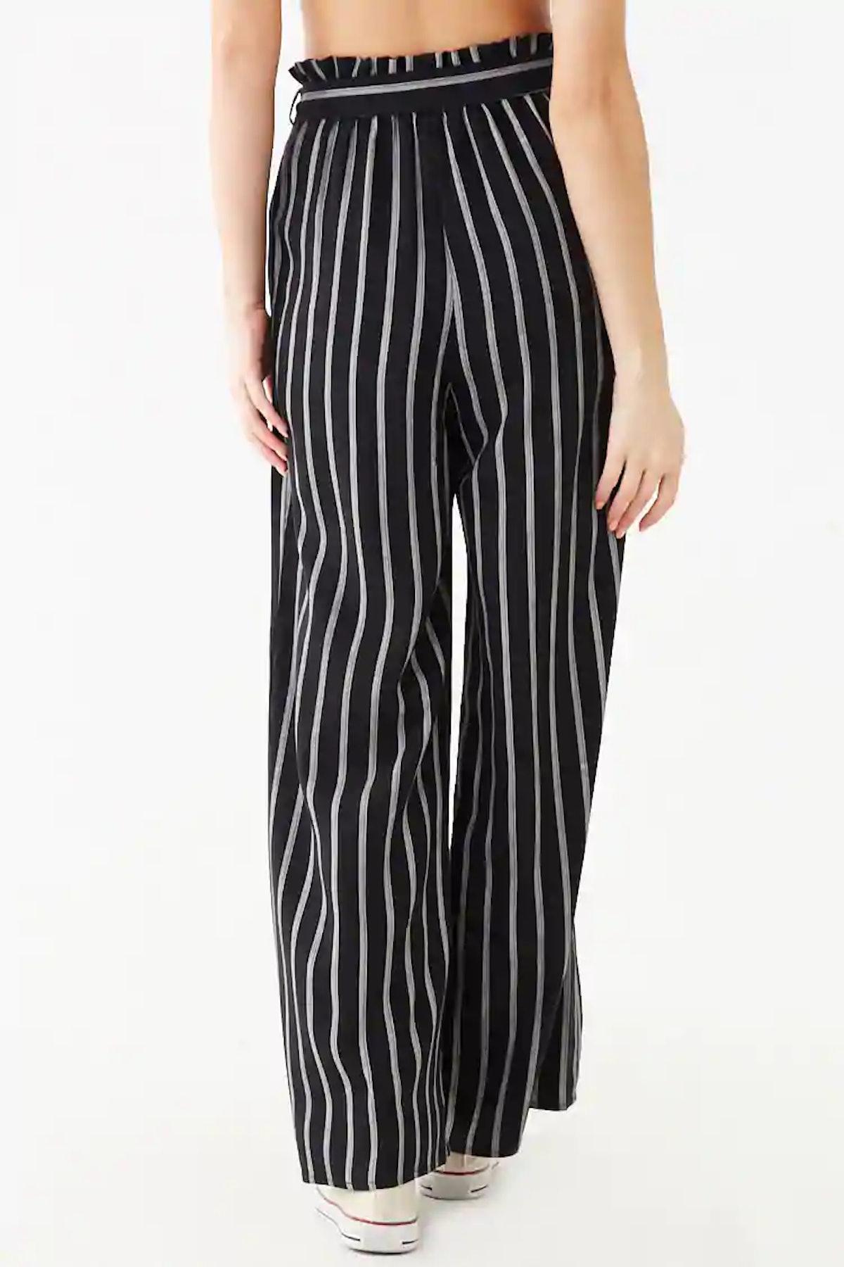 Striped Paperbag Pants