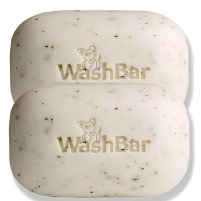 WashBar Natural Dog Shampoo Bar (2-Pack)