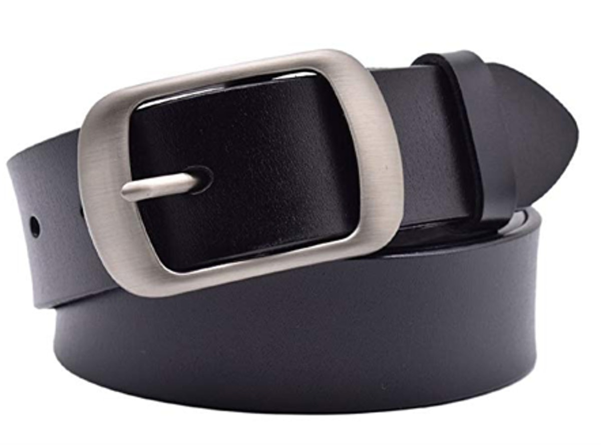 Vonsely Soft Wide Leather Belt