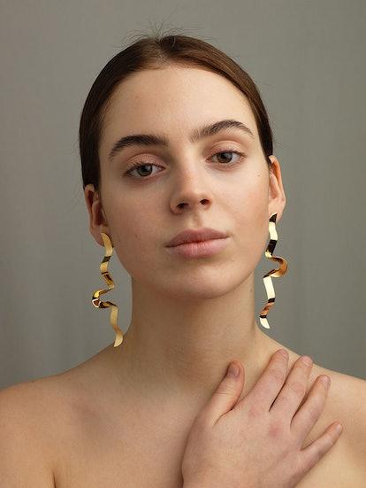 Serpentine Earrings