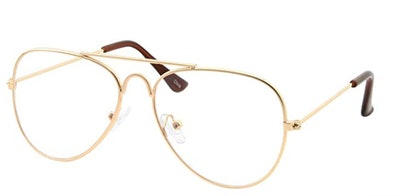 Kids Fake Aviator Eye Glasses
