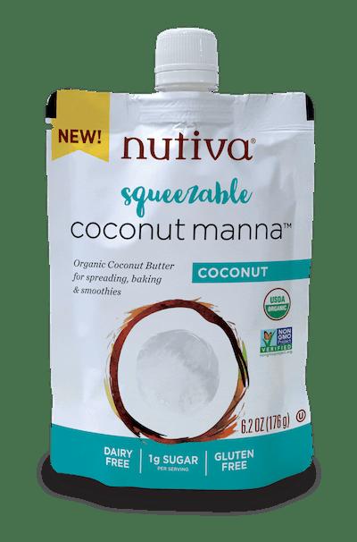 Squeezable Organic Coconut Manna