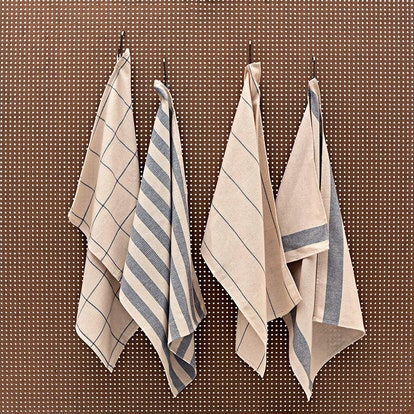MEEMA Recycled Cotton Dish Towels (Set of 4)