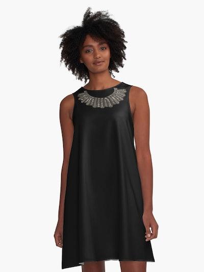 Ruth Bader Ginsburg Dissent Collar RBG A-Line Dress
